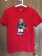 NWT Ralph Lauren Polo Basketball Bear T Shirt Limited Edition Tee Small Size