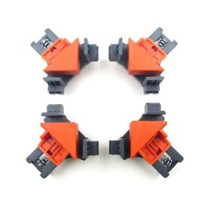 1pc 90° Right Angle Corner Clamp Clip Fixer Ruler Clamp Woodworking Hand Tool