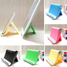 Multi-Angle Foldable Tablet Holder Adjustable Stand For iPad 4 3 iPhone Mobile