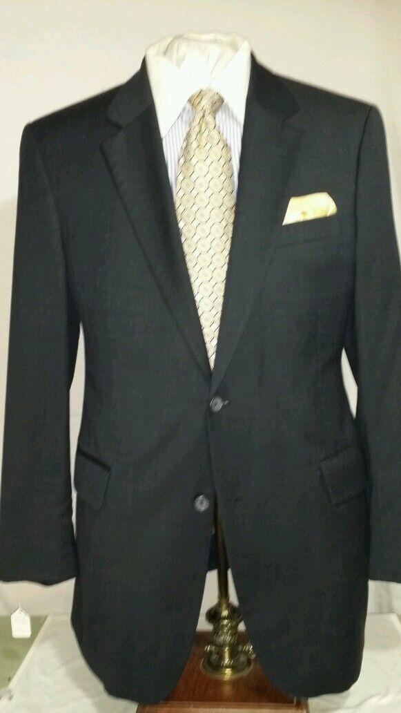 Herren JOS.A.BANK Blau 2 button single vent suit sz 41L