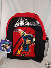"""NWT THE INCREDIBLES DISNEY PIXAR CANVAS BACKPACK  WITH WATER BOTTLE  13/"""" X 16/"""""""