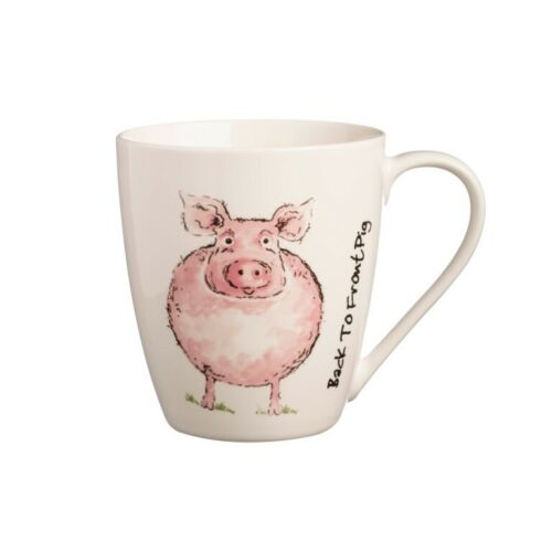 2423 2 X Price /& Kensington Back To Front Fine China Mugs  PIG
