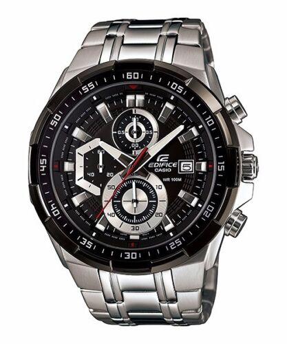 1 of 1 - EFR-539D-1A Black Casio Men's Watch Edifice Brand-New 100M Chronograph