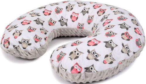 Stillkissen Lagerungskissen MINKY Baby Kissen abnehmbarer inkl.Bezug  60X52 cm