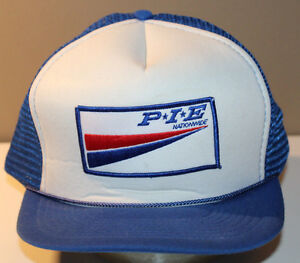 PIE Nationwide Cap Hat Vintage Snapback with Patch 1 Size Fits All Adjustable