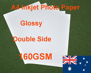 300-sheets-A4-160GSM-Inkjet-Double-Side-Glossy-Photo-Paper