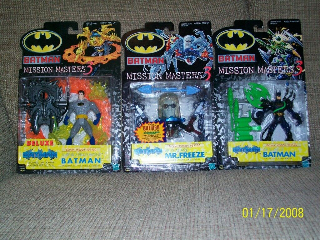 Hasbro Batman Mission Masters 3