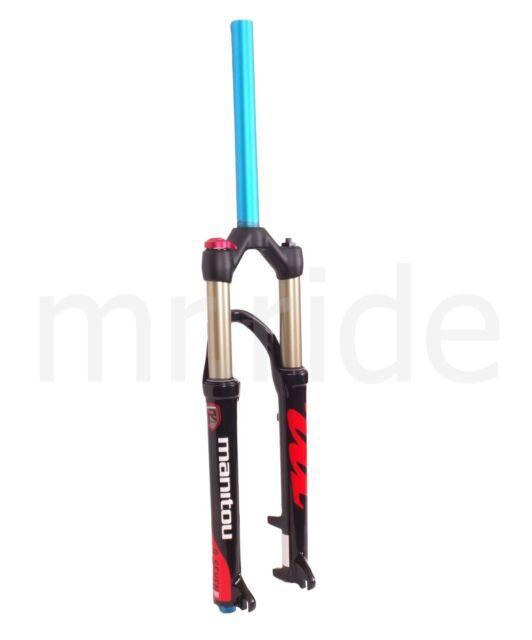 """Manitou R7 1-1/8"""" 26"""" x 100mm Mountain Bike Bicycle Disc Brake Fork - Black 2018"""