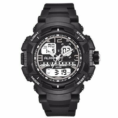 Brand Fashion  Shock Men Sports Watches Swim Dive LED Digital Military Watch K56