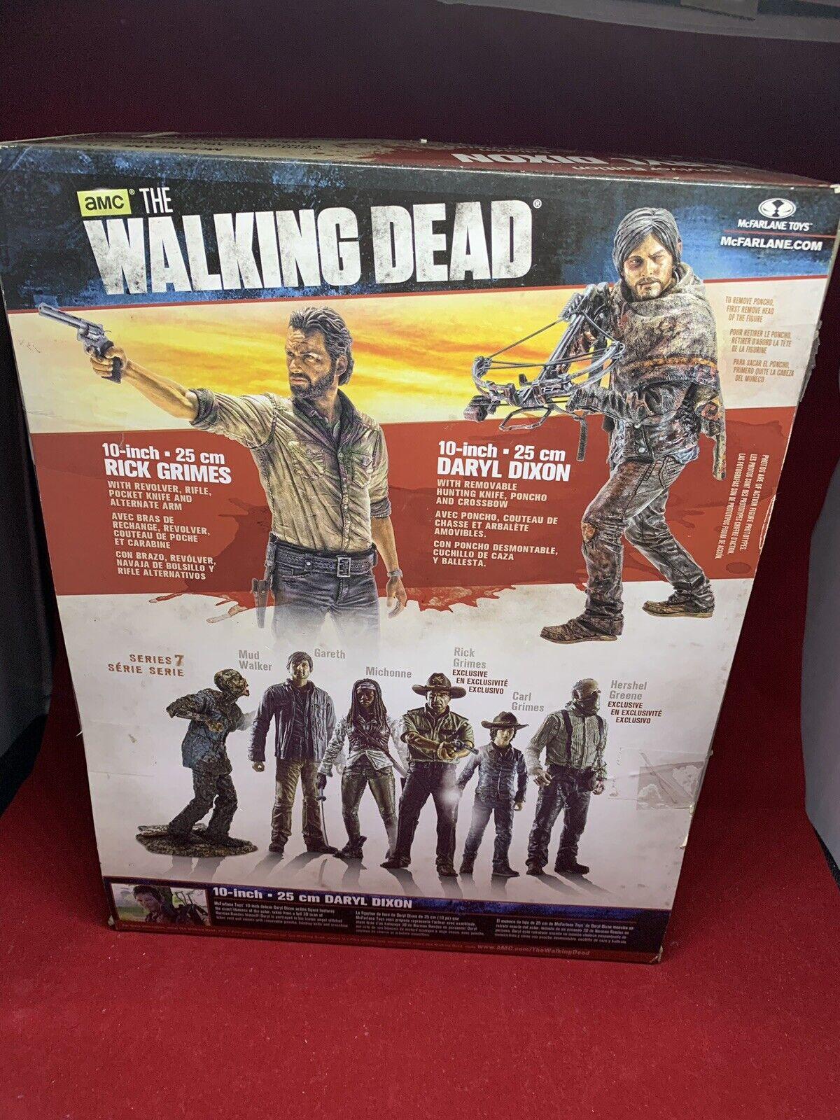 Walking Dead Daryl Dixon Dixon Dixon Survivor Series 10-Inch Deluxe Action Figure - New d1abea