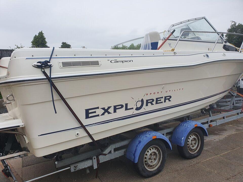 Campion 672 Explorer, Motorbåd, årg. 2000