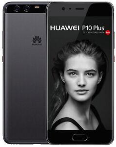 Huawei P10 Plus graphite black / schwarz Android gebraucht Gut vom Händler