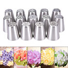 Russian Icing Piping Nozzles Tips Cake Decor Sugarcraft Pastry Tool 14 Type HU