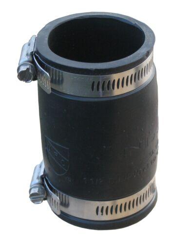 Elastomer PVC Flexible Muffe 20,40,50,63,75,90,110,125,160,200,250 mm Flexmuffe