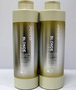Joico-Blonde-Life-Brightening-Shampoo-amp-Conditioner-33-8-oz-Liter-Duo-Set
