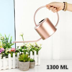 1300-ML-Watering-Can-Indoor-Garden-Plant-Spray-Irrigation-Stainless-Steel-Pot