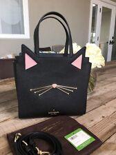 Item 3 Kate Spade New York Jazz Things Up Cat Black Small Hayden Crossbody Bag Nwt