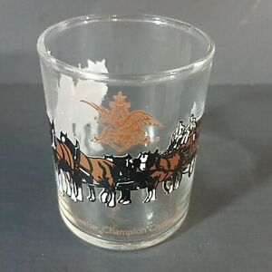 Budweiser-Champion-Clydesdales-Shot-Glass-Horses