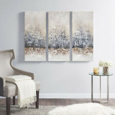 Madison Park 3d Embellished Canvas With Grey Finish Mp95a 0116 For Sale Online Ebay