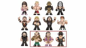 Wwe Mystery Minis Série 2 - Boîtier à variantes pour figurines - Nouveau En Stock