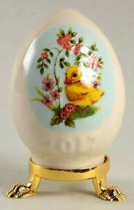 Goebel-EASTER-EGG-Duckling-With-Flowers-11185395
