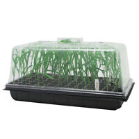 10 X 20 Seed Starter Kit Starting Plant Propagation Cloning Tray Tall 7'' Dome