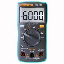 Rm101 Digital Multimeter Dmm Dc Ac Voltage Current Meter Diode Capacitanc Tester