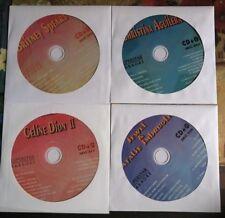 4 CDG DISCS LOT 1990'S FEMALE KARAOKE HITS OF JEWEL,CELINE DION,BRITNEY SPEARS