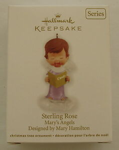 Hallmark 2012 Mary's Angels #25 Series Sterling Rose ...