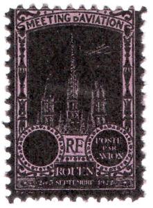 I-B-France-Cinderella-Poste-Par-Avion-Rouen-1922