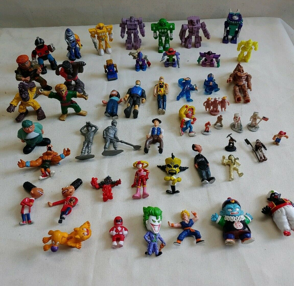 azione cifra Vintage  gree Lot  Mini cifra Of 50