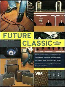 2005 Vox AC30 amplifier series advertisement original 8 x 11 amp ad print