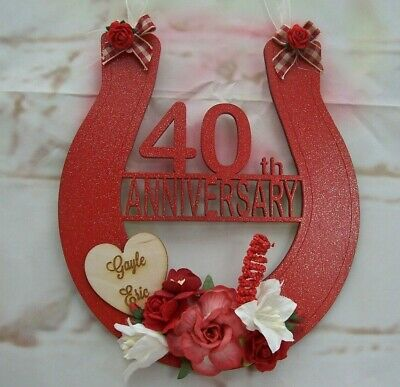 Personalized 40th Wedding Anniversary 40 Years Love You Still Gift ... LT-1160