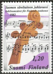 Finland-1982-MNH-Sibelius-Academy-100-Years-Anniv-of-Finnish-Musical-Art