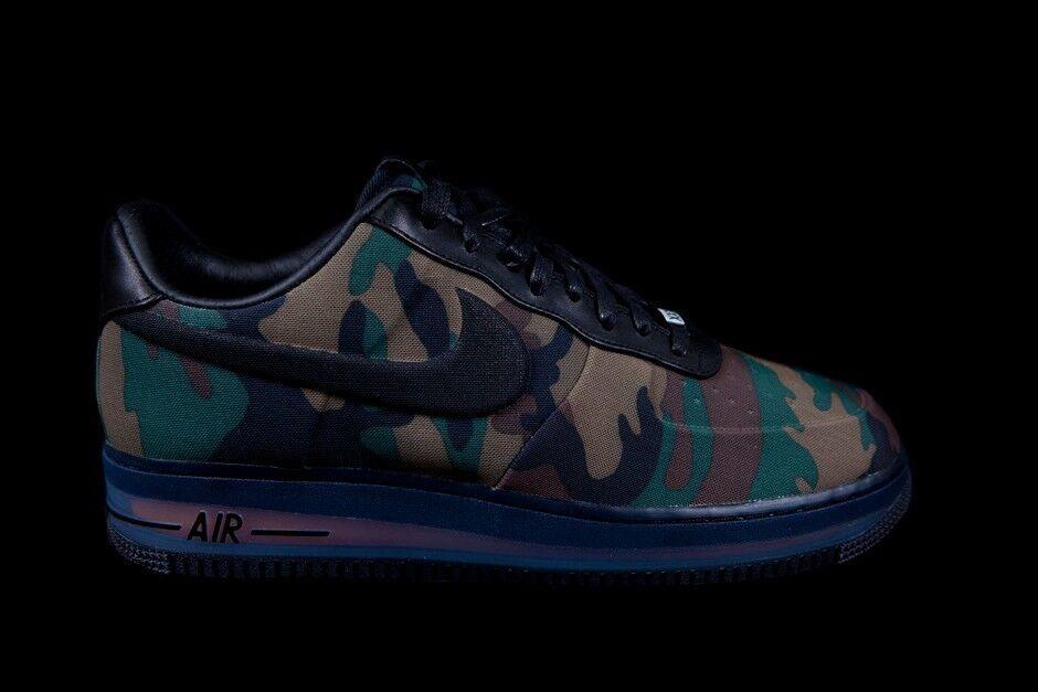 Nike Air Force 1 Low Max Air VT QS Camo 13 SZ 8 13 Camo Negro 530989-090 el modelo mas vendido de la marca 8d39ff