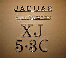 Jaguar XJ12 serie 2 Coupé/Sedán nos inicio/Insignias/emblemas de tapa del tronco