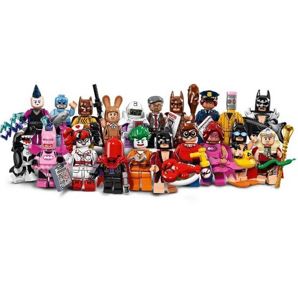LEGO 71017 BATMAN MOVIE MINIFIGURES SERIES COMPLETE SET OF 20