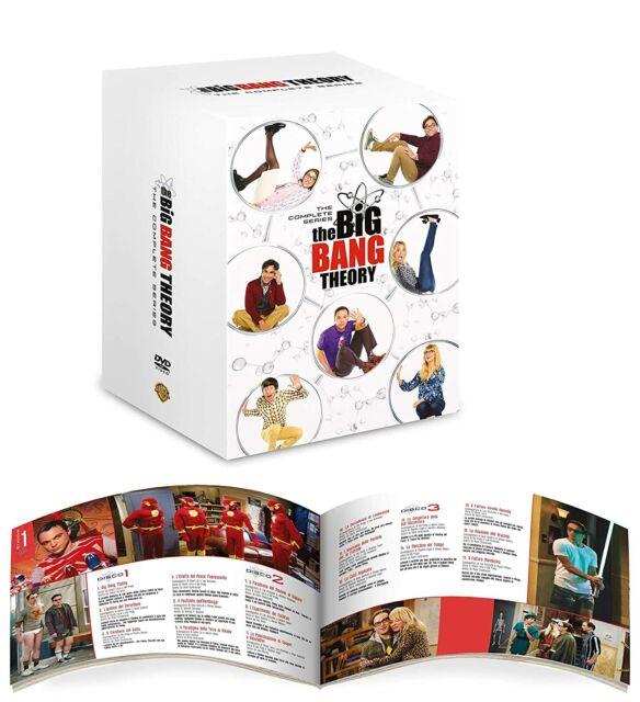 The Big Bang Theory Serie Completa Stagioni 1-12 ITALIANO 37 DVD NUOVO SIGILLATO