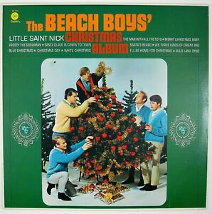 BEACH-BOYS-Beach-Boy-039-s-Christmas-Album-LP-SEASONAL-XMAS-197-NM-NM