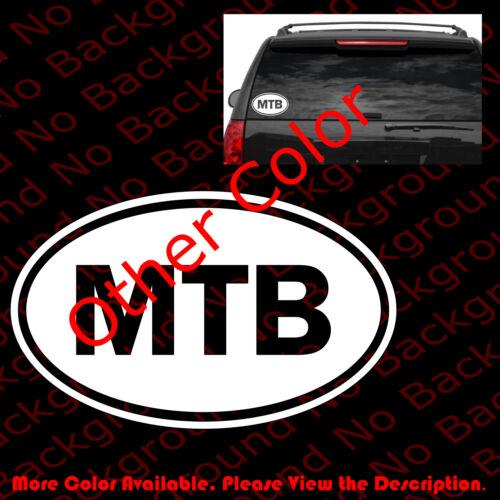 MTB MOUNTAIN BIKE Vinyl Die Cut Decal Sticker Car Cycling Biking Free Ride SP030