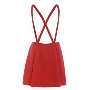 Women-Fashion-Summer-Knee-Length-Spaghetti-Cross-Strap-A-line-Casual-Skirt-Dress