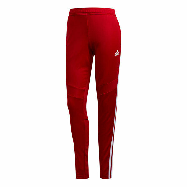 DZ8762 WOMEN'S NEW  ADIDAS TIRO 19 TRAINING PANTS SOCCER RED WHITE