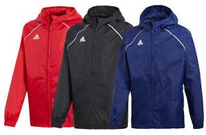 Detalles 18 Adidas Core Deporte Chaqueta Impermeable Informal Niños De Infantil 3L5jRq4A