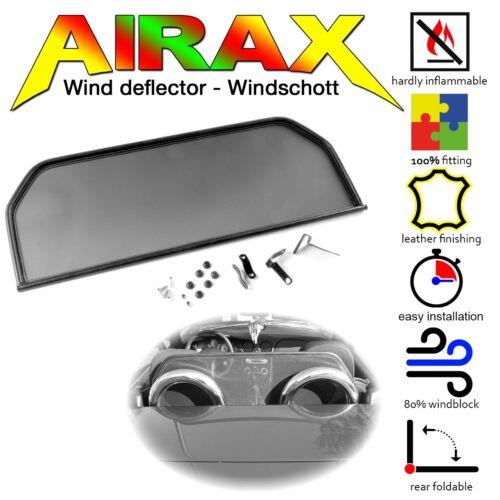 Airax déflecteur Fiat Barchetta Année de construction 1995–2005 wsp046