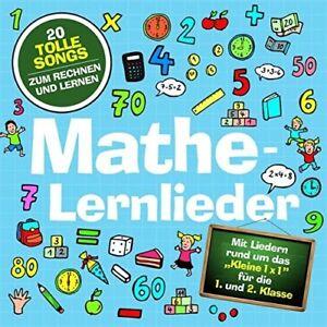 Marie-amp-FINN-LA-MATEMATICA-lernlieder-LAMP-e-gente-CD-NUOVO