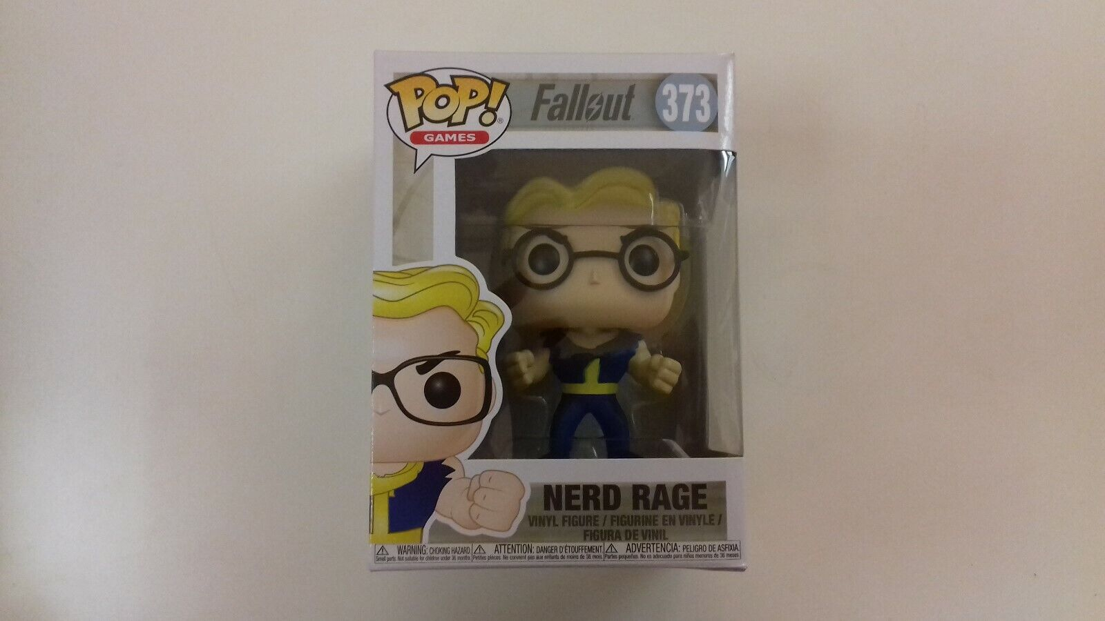 Funko pop neuf Games Fallout  Vault Boy   NERD RAGE 373