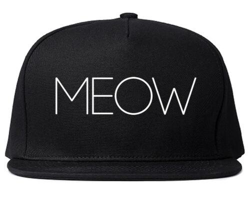 Very Nice Meow Cute Cats Kittens Black Snapback Hat