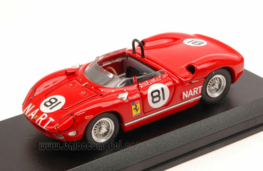 Ferrari 275 P  81 2nd 500 Km Bridgehampton 1964 P. Rodriguez 1 43 Model 0334