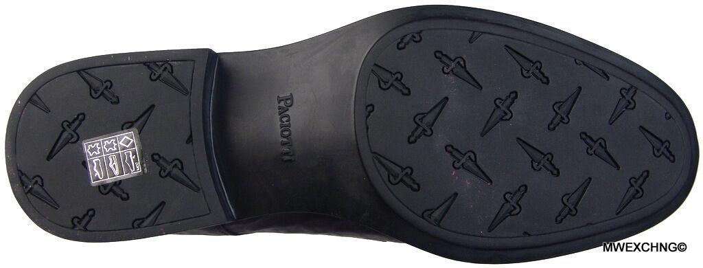 New Authentic $875 Cesare Paciotti US 10.5 Loafers Italian Designer Shoes Boots Scarpe classiche da uomo