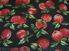 3 Yards Quilt Cotton Fabric- Benartex Dover Hill Apple Picking Time on Brown